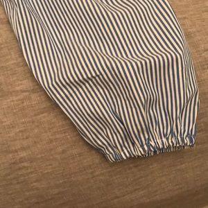 J. Crew Tops - j crew pin striped blouse